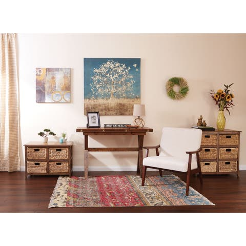 OSP Home Furnishings Sheridan 6-Drawer Storage