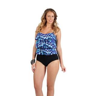 Swim by Chuck Handy Women's Pixel Beach 1-piece Swimsuit including Kaftan