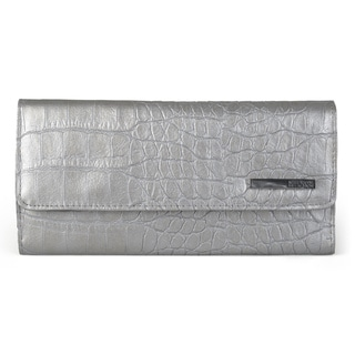 Kenneth Cole Reaction Women's Elongated Trifold Clutch Wallet