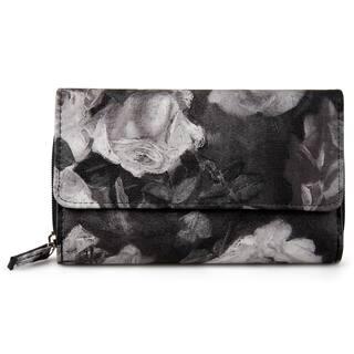 Mundi Women's Faux Leather Big Fat Clutch Wallet|https://ak1.ostkcdn.com/images/products/13989127/P20613405.jpg?impolicy=medium