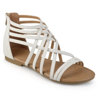 Journee Collection Women's 'Hanni' Flat Gladiator Sandals (More options available)