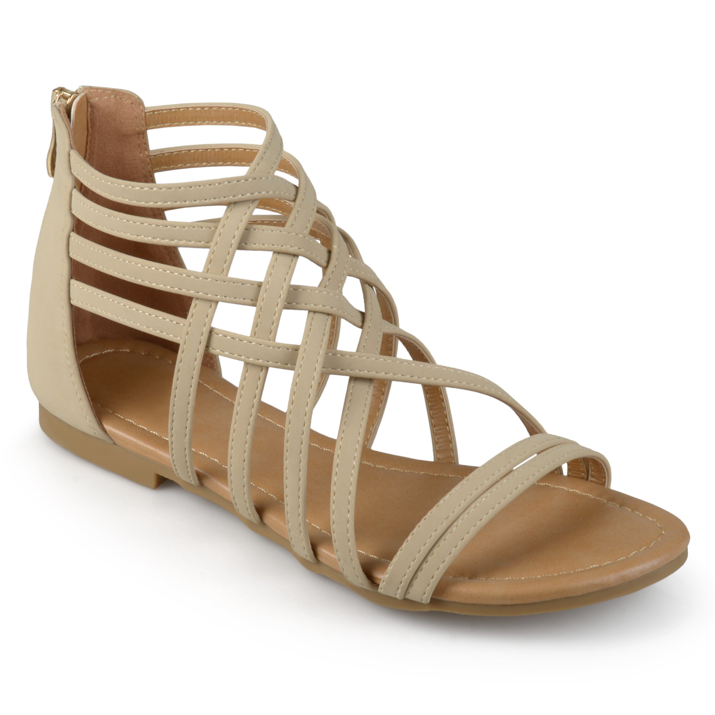 Journee Collection Women's 'Hanni' Flat Gladiator Sandals