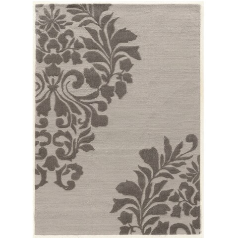 Hand Tufted TRIO Medallion Polyester Rug