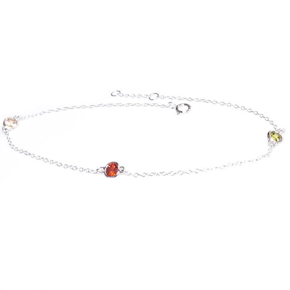 9 1 Extender Queenberry Sterling Silver Round Love Tag Dangle Charm Rolo Cable Chain Link Anklet