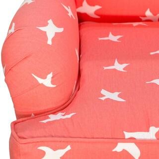Skyline Furniture Kid's Accent Chair in Bird Silhouette