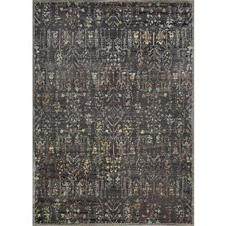 Couristan Patina Persian Cypress/Burnt Kindling Power-loomed Courtron Polypropylene/Polyester Blend Rug (2' x 3'11)