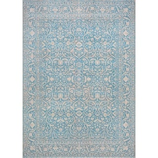 Couristan Patina Qum/Ocean Power-Loomed Rug (3'11 x 5'6)