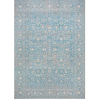 "Couristan Patina Blue/Ivory Area Rug (2' x 3'11"")"