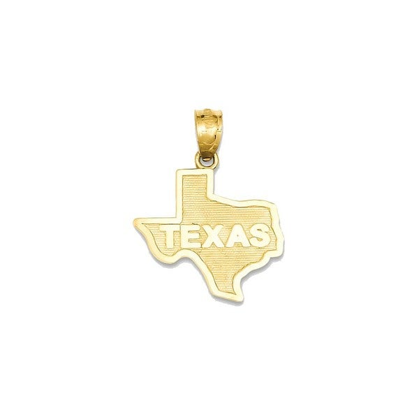 14k yellow gold state of texas pendant free shipping today 14k yellow gold state of texas pendant mozeypictures Choice Image