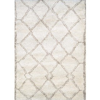Couristan Bromley Kyoto/Snowflake/Bronze Power-loomed Wool/Courtron Polypropylene/Polyester Blend Rug (2' x 3'11)