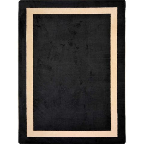 "Joy Carpets Kid Essentials Onyx Portrait Area Rug - 10'9"" x 13'2"""