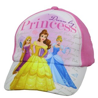 Disney Girls' Princess Dream Big Baseball Cap (Size 4 to 14)