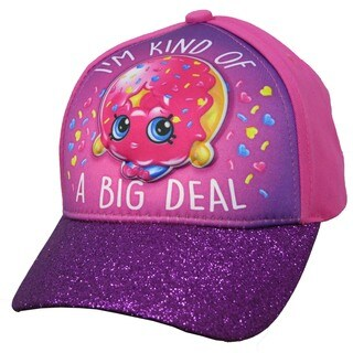 Shopkins D'lish Donut Girls Pink Cotton Baseball Cap