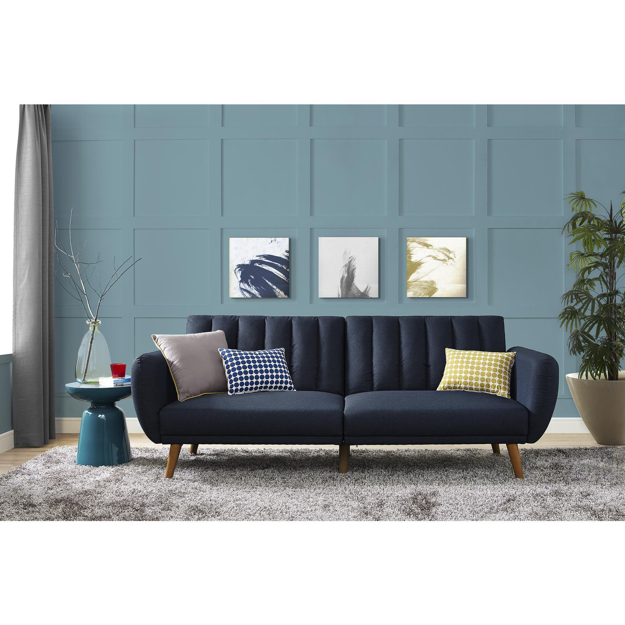 Beau Top Rated · Type: Sofa · Clear All · Carson Carrington Brandbu Mid Century  Fold Down Futon