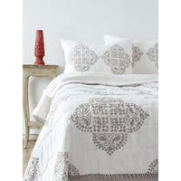 Candace Grey Quilt Set