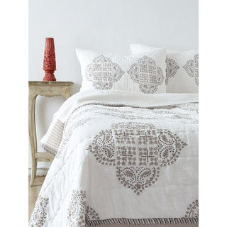 Candace Grey Quilt Set (3 options available)