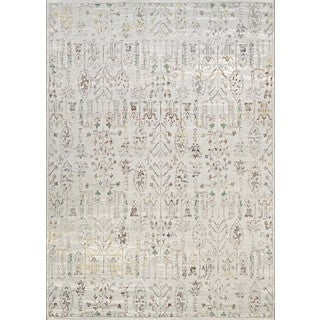 Couristan Patina Ocean Sand-colored Courtron Polypropylene/Polyester Power-loomed Rug (7'10 x 10'9)