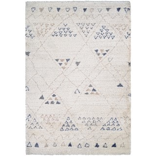Couristan Bromley Jakarta Ivory Wool-blend Rug (7'10 x 11'2)