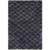 "Chione Ouray Blue Area Rug - 7'10"" x 11'2"""