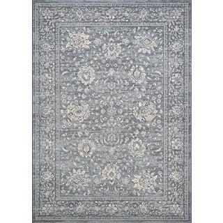 Couristan Sultan Treasures Persian Isfahan/Slate Area Rug - 2' x 3'7""