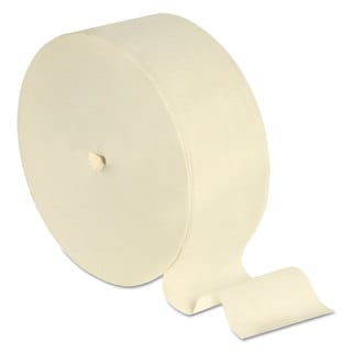 Scott Coreless JRT Rolls 2-Ply 1150ft Eggshell 12/Carton