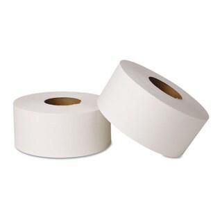 Wausau Paper EcoSoft Jumbo Tissue 2-Ply 12 Rolls/Carton