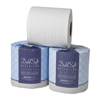 Wausau Paper DublSoft Bath Tissue 2-Ply 80 Rolls/Carton