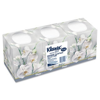 Kleenex Facial Tissue 2-Ply Pop-Up Box 3 Boxes/Pack 12 Packs/Carton