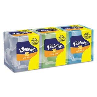 Kleenex Boutique Anti-Viral Facial Tissue 3Ply Pop-Up Box