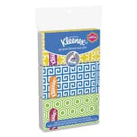 Kleenex  Facial Tissue Pocket Packs 3-Ply 30 Sheets/Pack 36 Packs/Carton