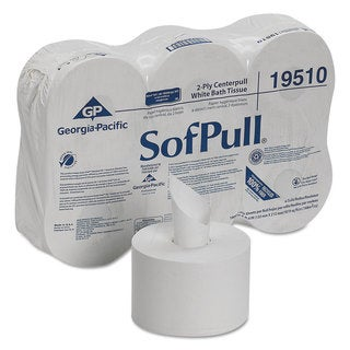 Georgia Pacific Professional High Capacity Center Pull Tissue 1000 Sheets/Roll 6 Rolls/Carton
