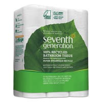 Seventh Gen. 100-percent Recycled 2-ply, White, 240 Sheet, 24 Roll, Bathroom Tissue (Pack of 2)