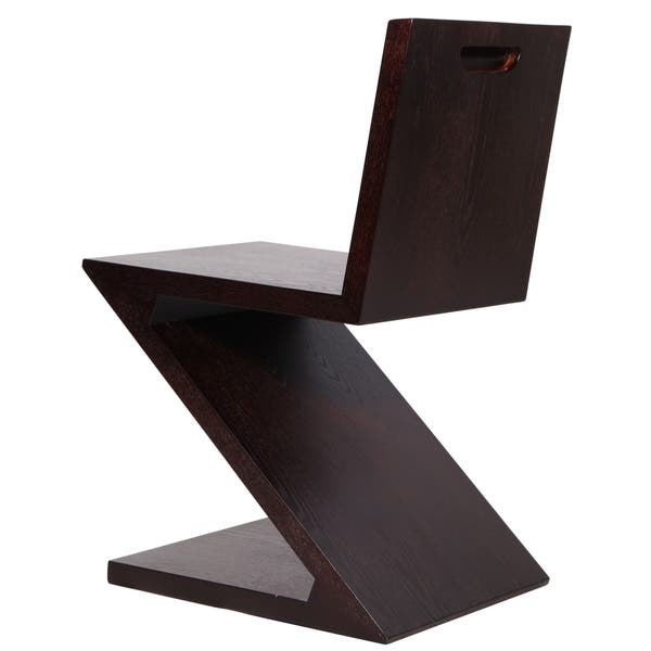 Magnificent Shop Mlf Gerrit Thomas Rietveld Wood Zigzag Chair Free Short Links Chair Design For Home Short Linksinfo