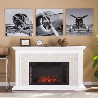 Harper Blvd Vintage Airplane Propeller Glass Wall Art - 3pc Set