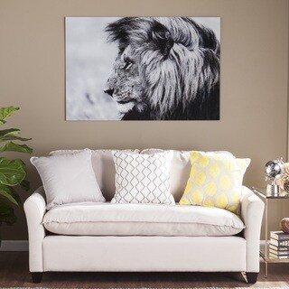 Harper Blvd The Lion Glass Wall Art