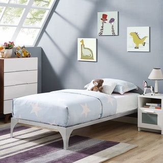 Ollie Bed Frame in Silver
