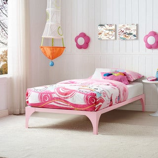 Ollie Bed Frame in Pink