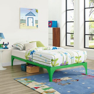 Ollie Bed Frame in Green