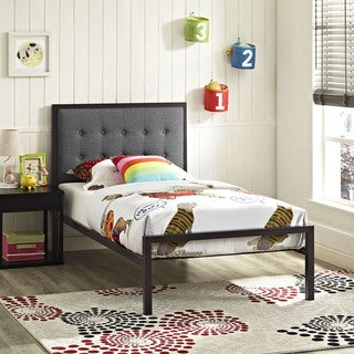 Millie Bed in Brown Gray