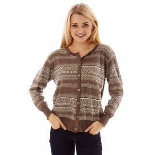 Jon & Anna Women's Fair Isle Sweater