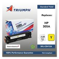 Triumph 751000NSH1286 Remanufactured CE412A (305A) Toner, Yellow