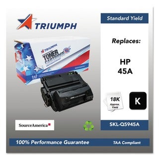 Triumph 751000NSH0356 Remanufactured Q5945A (45A) Toner, Black