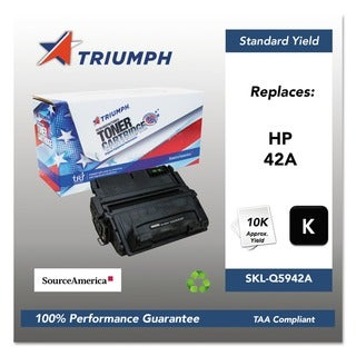 Triumph 751000NSH0180 Remanufactured Q5942A (42A) Toner, Black