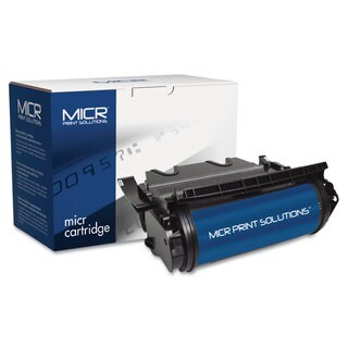 MICR Print Solutions Compatible with T630M MICR Toner 21 000 Page-Yield Black
