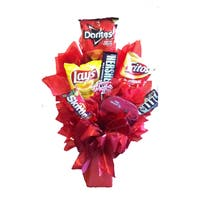 Chip-aholic Snack Bouquet