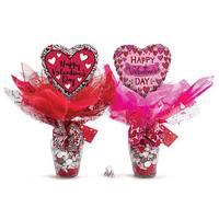 Valentine's Day Candy Vase
