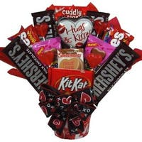 Hugs and Kisses Valentine Candy Bouquet