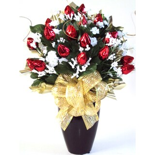 Hershey Chocolate Rosebud Bouquet