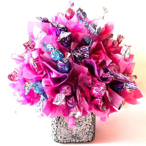 Sweet Pink Gourmet Truffle Bouquet