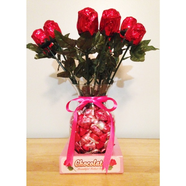 Lovers Sweet Chocolate Roses